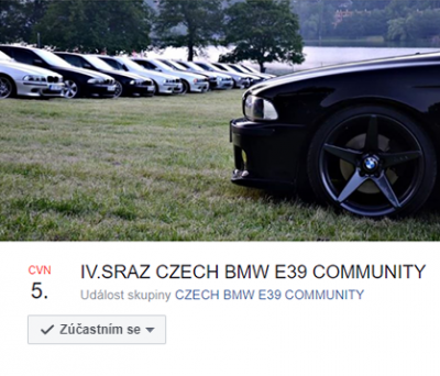 IV. Sraz CZECH BMW E39 COMMUNITY